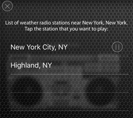 National Weather Service Radio Usa Only