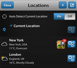 Auto Detection Of Current Location