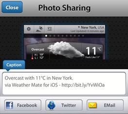 Screen Sharing Options