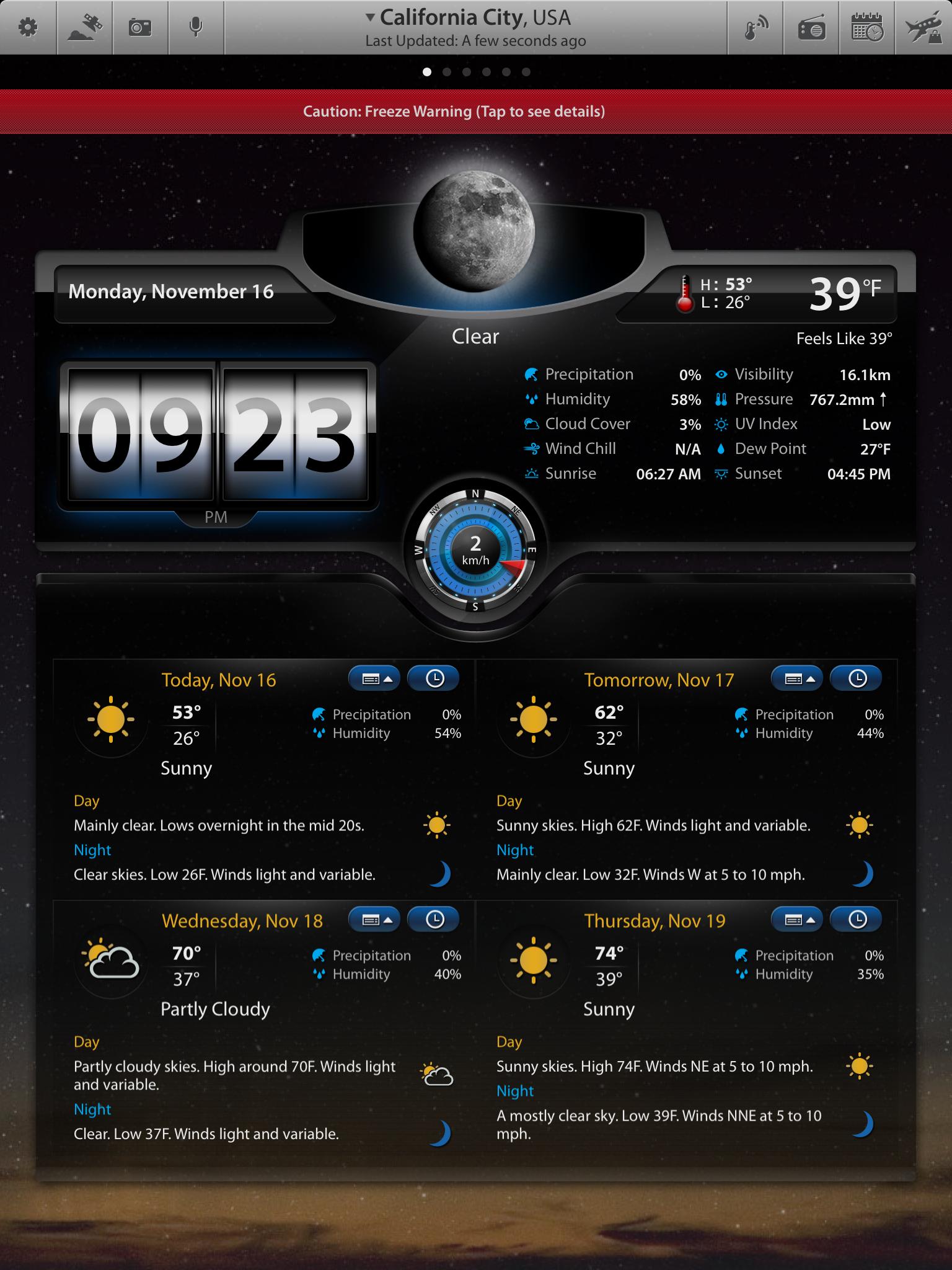 Weather Summary