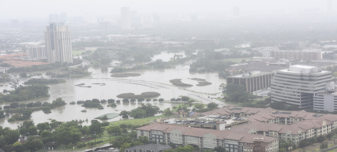 Hurricane Harvey Brings Destruction Into Texas